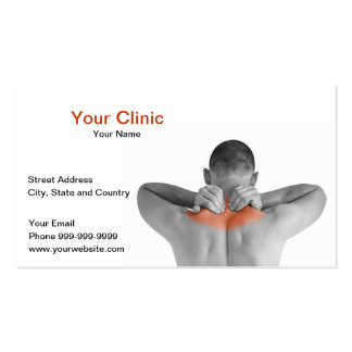 your clinic business card
