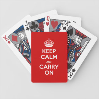 Your color Keep Calm palying cards Card Decks