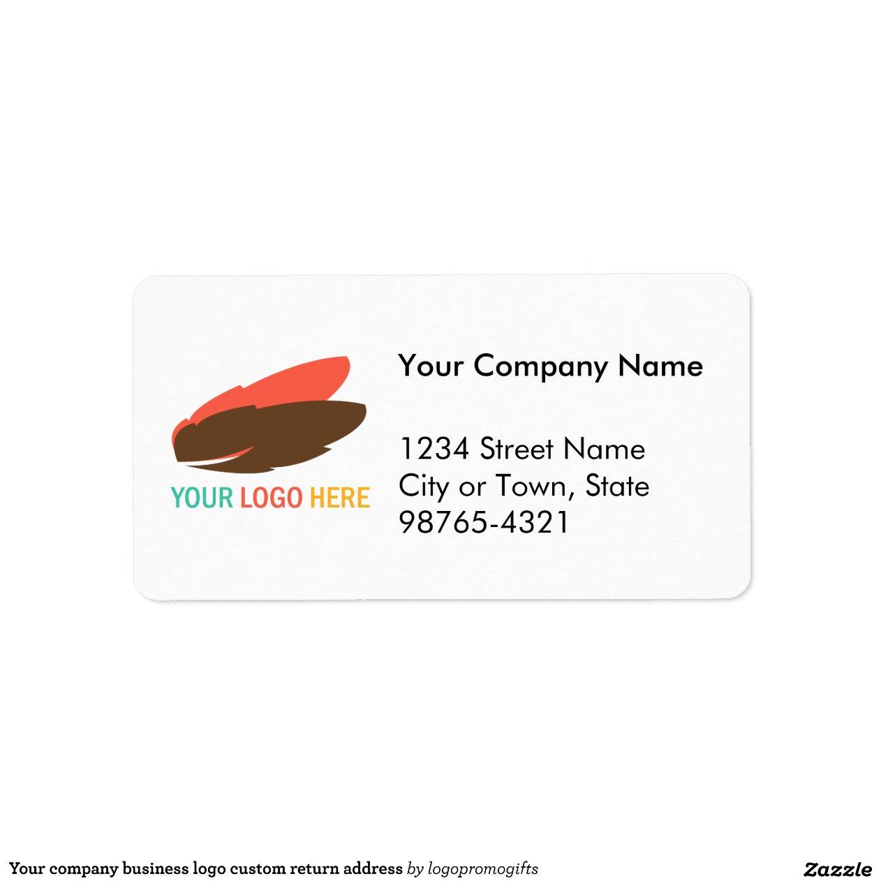V Company Logo Your company business logo