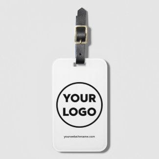Your Company Logo and Business Website Bag Tag