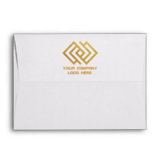 Your Company Logo Back Print Envelope
