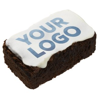 Your Company Logo Business Event Brownie