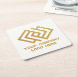 "Your Company Logo Coasters Square White<br><div class=""desc"">Your Company Logo Coasters Square White</div>"