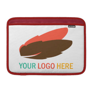Your company logo custom marketing promotional MacBook sleeve