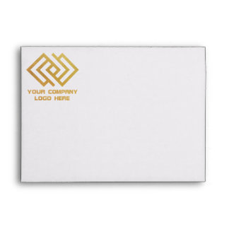 Your Company Logo Front Print Envelope
