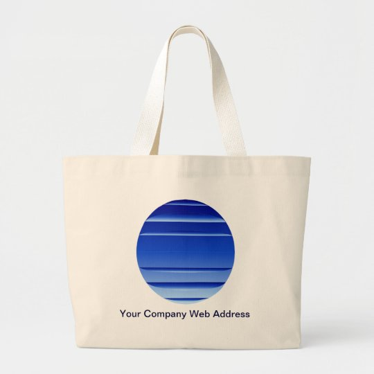 Your Company Logo Large Tote Bag