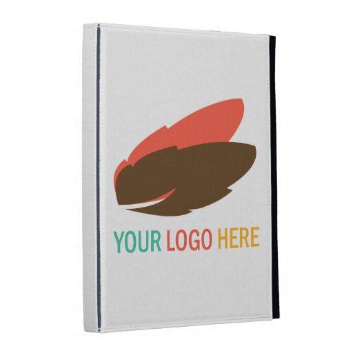Your company logo marketing promotional iPad case