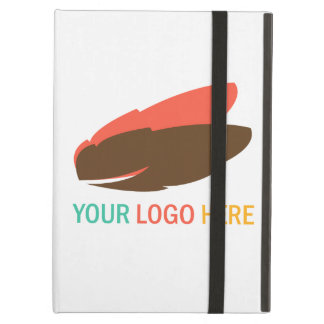 Your company logo marketing promotional case for iPad air