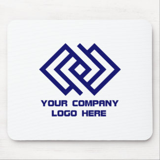 Your Company Logo Mousepad White or Choose Color