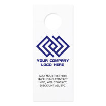 Your Company Logo Promotional Door Hanger
