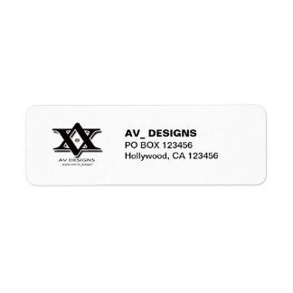 Your Company Logo - Return Address Labels