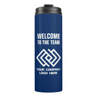 Your Company Logo Welcome to the Team Choose Color Thermal Tumbler