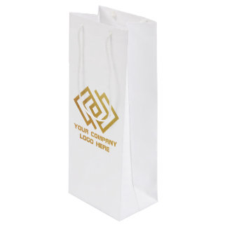 Your Logo Here Gift Bags   Zazzle
