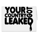 Your Country Got Leaked Card