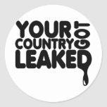 Your Country Got Leaked Stickers