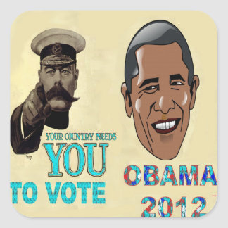 Your Country Need You to Vote OBAMA 2012 Sticker