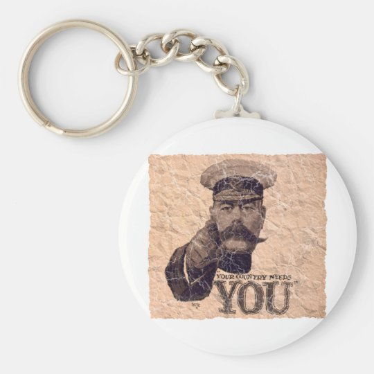 Your Country Needs YOU 3 Keychain