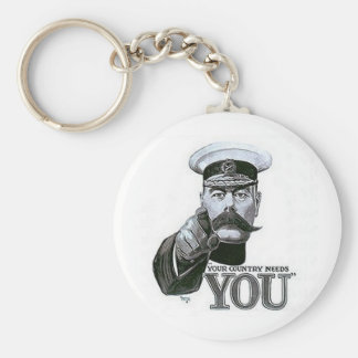 Your Country Needs You Keychain
