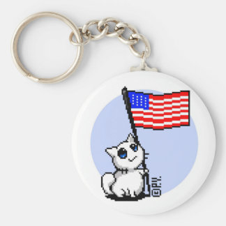Your Country's Gif Basic Round Button Keychain