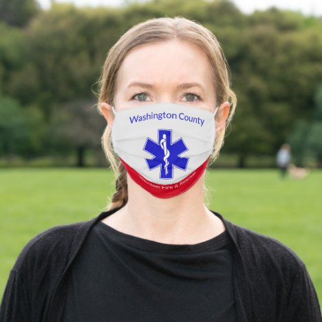 Your County Volunteer Fire and Rescue Reusable Adult Cloth Face Mask