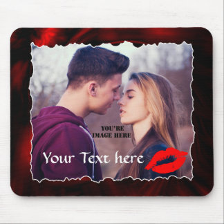 Your couples photo mouse pad