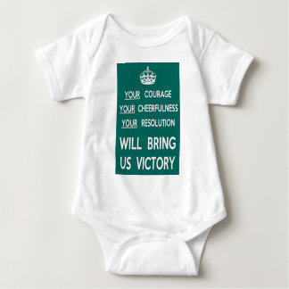 Your Courage Will Bring Us Victory Baby Bodysuit