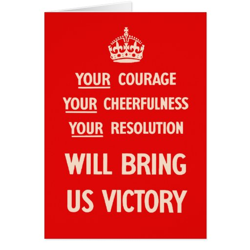 Your Courage Your Cheerfulness Your Resolution Cards