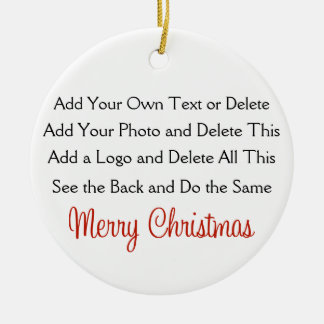 Your Creation Ornament