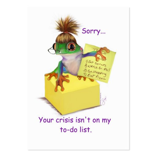 Your Crisis Business or Calling Card Business Cards