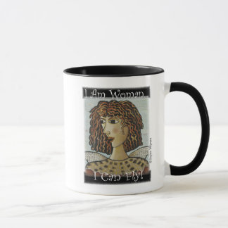 Your Custom 11 oz Combo Mug-I Am Woman (Bird) Mug
