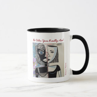 Your Custom 11 oz Combo Mug-Who Are You? Mug