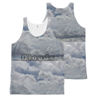 Your Custom All-Over Printed Unisex Tank. All-Over Print Tank Top