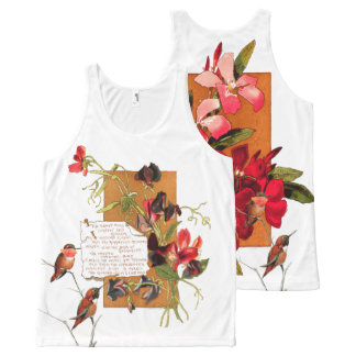 Your Custom All-Over Printed Unisex Tank, L All-Over Print Tank Top