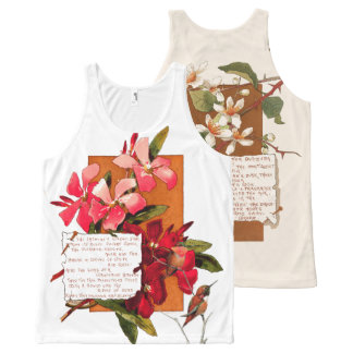 Your Custom All-Over Printed Unisex Tank, XL All-Over Print Tank Top