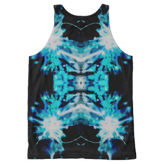 Your Custom All-Over Printed Unisex Tank, XL aqaln All-Over Print Tank Top