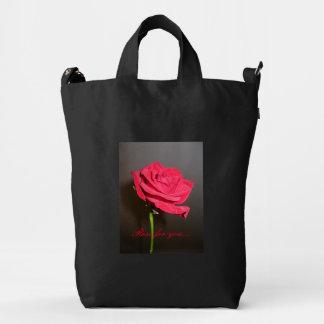 Your Custom BAGGU Duck Bag, Black. Rose for you... Duck Bag