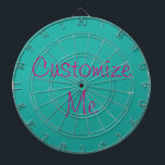 """Your Custom Dartboard<br><div class=""""desc"""">Fully customizable dartboard makes the perfect gift! Add your image or select a color,  add your optional custom text.</div>"""