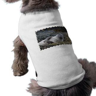 Your Custom Doggie Ribbed Tank Top Dog Shirt