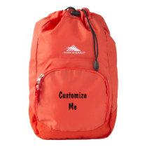 Your Custom High Sierra Synch Backpack