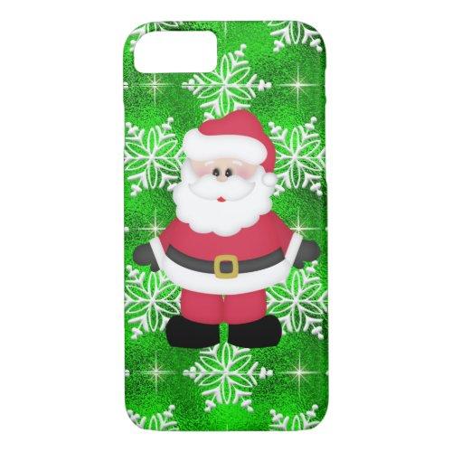 Your Custom iPhone 7 Case Santa