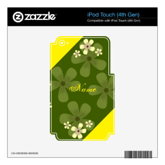 Your Custom iPod Touch (4th Gen) Skin iPod Touch 4G Skins