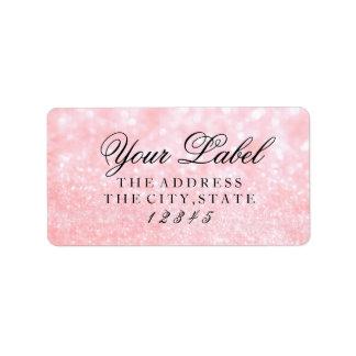 Your Custom Label - Lit Pink Glit Fab
