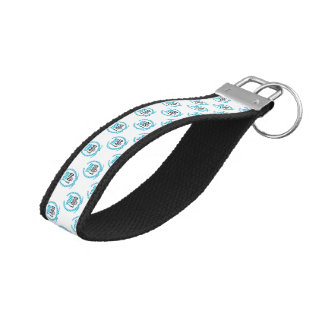 Your Custom Logo | Image All Over Patterned Wrist Keychain