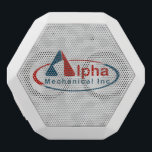 """Your Custom Logo on White Speaker Box<br><div class=""""desc"""">Customize your own speaker box with your company&#39;s logo!</div>"""