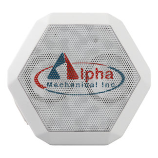 Your Custom Logo on White Speaker Box