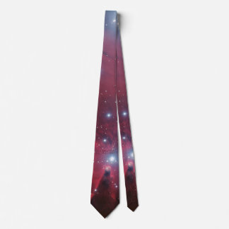 Your custom monogram Christmas Tree Cluster Neck Tie