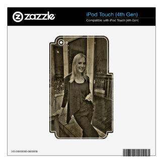 Your custom photo decal for iPod touch 4G