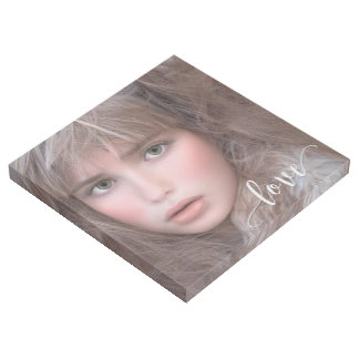 Your Custom Portrait with Love Gallery Wrap