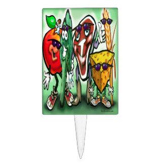 Your Custom Rectangle Cakepick