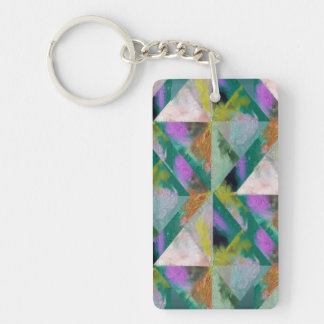 Your Custom Rectangle (single-sided) Keychain